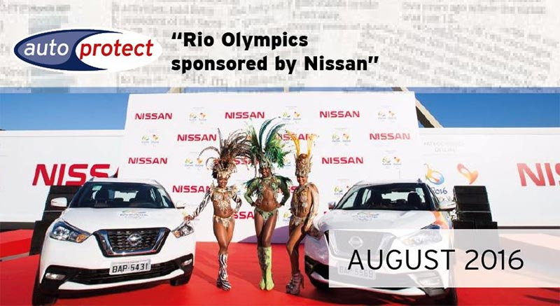 August 2016 – Rio Olympics Sponsored By Nissan