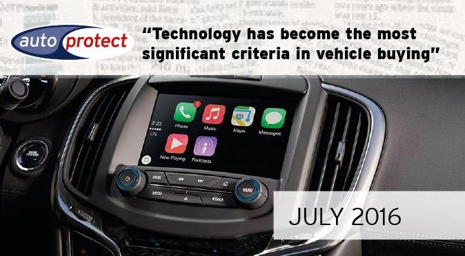 July 2016 - The Connected Car