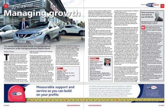 AutoProtect Motor Trader Feature: Managing Growth