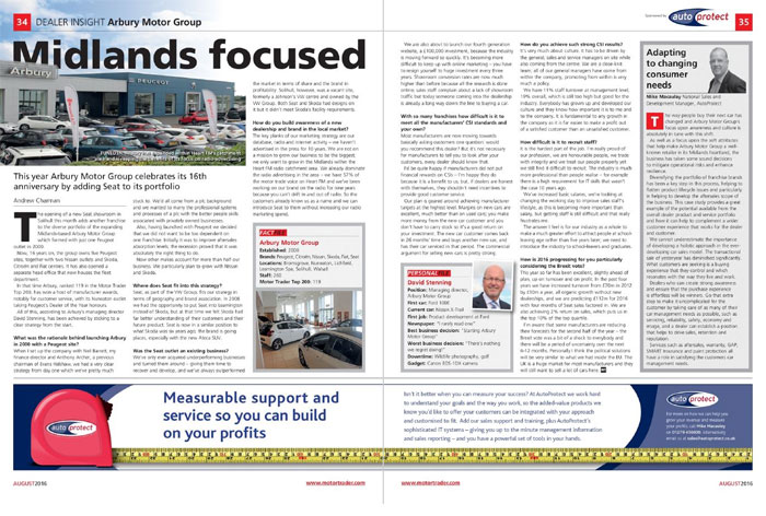 AutoProtect Motor Trader Feature: Midlands Focused