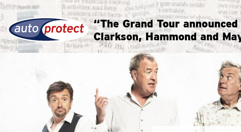 September 2016 - The Grand Tour Launch Date Announced