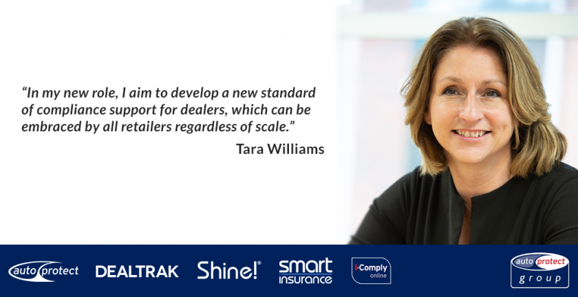 Tara Williams re-joins AutoProtect Group at a crucial time for F&I
